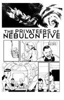 The Privateers of Nebulon Five pg.1 by ADAMshoots