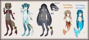 Old Closed Species Adopts {CLOSED} by ChainOfRain