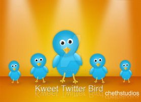 Kweet- A free Twitter Bird by cheth