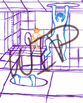 Portal: Sips and Sjin WIP by JCShirotami