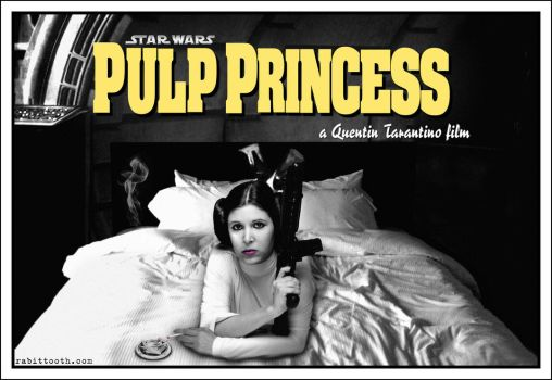 Pulp Princess ( Star Wars / Pulp Fiction ) by Rabittooth