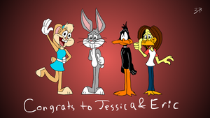 Congrats to Jessica and Eric by zharthouse