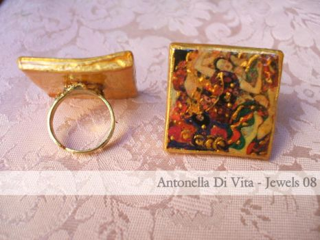 Klimt Ring by CuorEmani