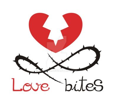 Love Bites logo by Poipoire