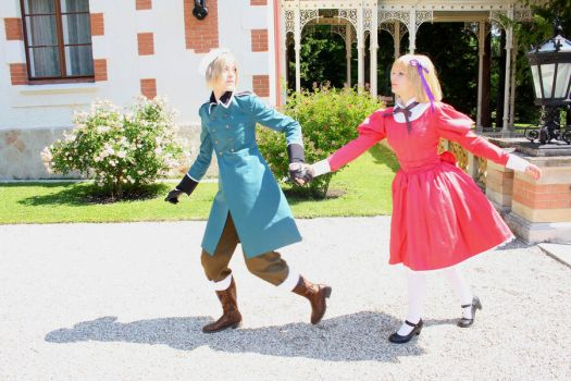 Hetalia: Hurry Up by Frostpfote