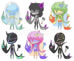 [CLOSED] Dentii Batch 2 by CloverWing