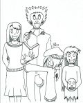 All Smiles (Graywood High Fanart) by MeisterAj