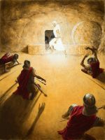 Opening the Tomb by DouglasRamsey