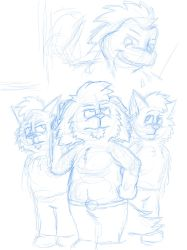 The Great Critter Heist (cover sketch) by JWthaMajestic