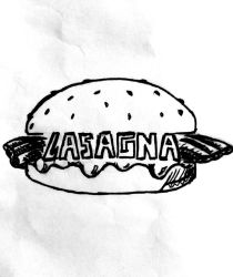 The lasagna burger by Mrlord88