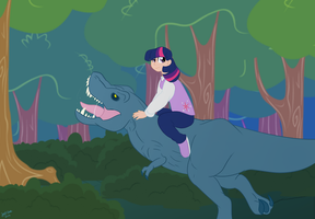 Dino Ride by Jaw2002