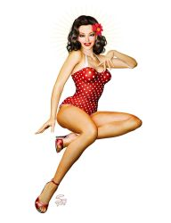Dottie 2014 Pin-Up by seanearley