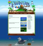 Phantasyland Web Design by Spacepretzel