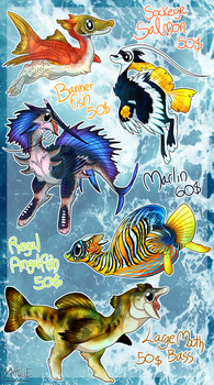 Byubuu Adoptable [FISH SPECIAL] - OPEN by M4WiE