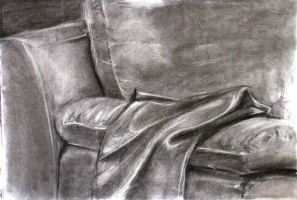 Fabric on a Couch by barelt1