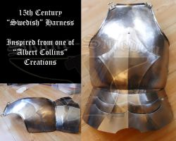 15th Century 'Swedish' Harness by Skane-Smeden
