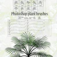 photoshop plant brushes part 1 by feniksas4