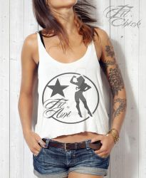 Anjelica Fit-Tank-Top by SHWZ