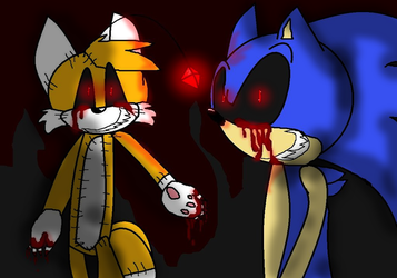 one character as exe or Sonic exe himself on Sonic-exe-Indonesia