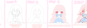 Chibi- STEP BY STEP- by Miyee