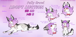 ADOPT AUCTION FALLY CROWL  OPEN by R-FEHHER