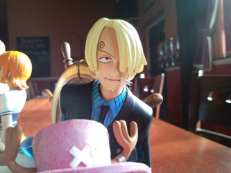 One Piece Bookends Sanji Part by l3xxybaby