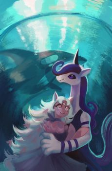 Aquarium Date by OrcaOwl