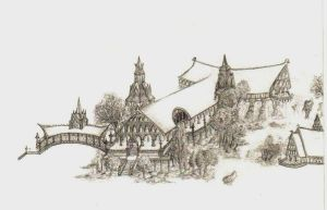 Rivendell_small sketch by Simanion
