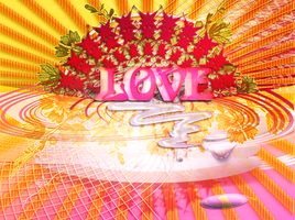 3D Love letters by gullwingsOn