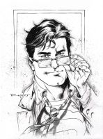 Clark Kent for Comic Con Revolution 2017 by aethibert