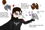 Adult Bernard Gordon-Barnes is Winter Bat by Dinzydragon