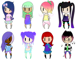 [Closed] 10 Point Girl Adopts by RaynAdopts
