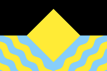 Flag of a Tidal Island by Wolf-ODonnell
