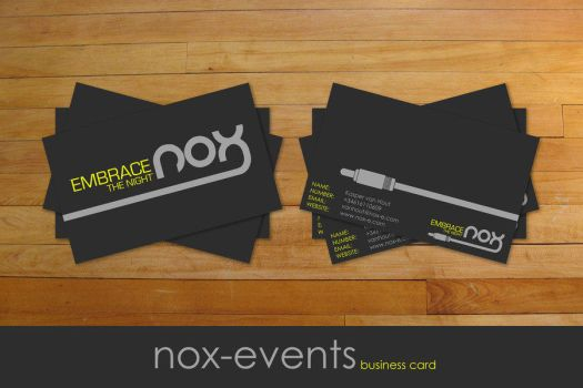 .:nox cards:. by 7UR by designerscouch