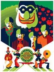 beatle: yellow submarine: meanie variant by strongstuff