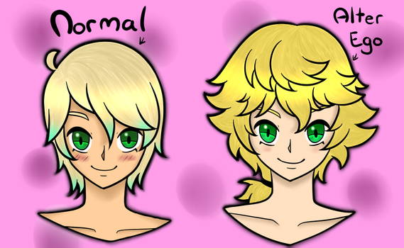 [OC] Lucas and his Alter Ego by Domenica-chan999