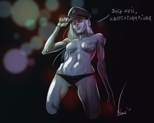 Sexy Female for SS by AtermisHammerstein