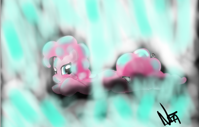 Pinkie cristal cave . by JuBrony