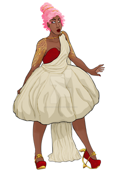 Cupid Couture2k16 by SilverMellow