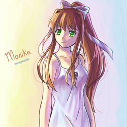 It's just Monika by inukagome134