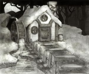 The Cravenwood Cabin by Guchi-Girl1