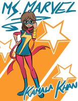 Ms. Marvel Ms. Khan by KumaOniOni