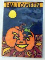 Halloween ATC by mintdawn