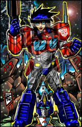 Armored Vixens Optimus by BigRob1031