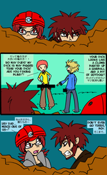 MANLY Comic by denkimouse