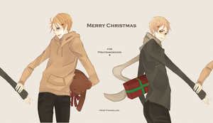 APH - USUK Merry Christmas by Vaindelled