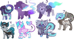 Lots of adopts (closed) by Niensis