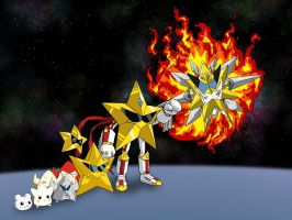 Evolution of Starmon (XW) by Miracle-Fox