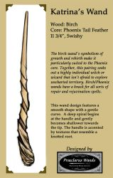 Commission an Original Wand Design - Sample by PraeclarusWands
