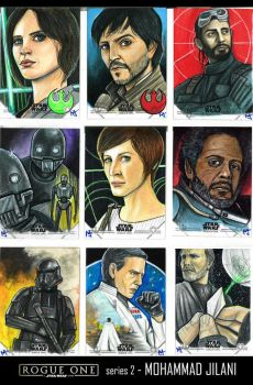 Rogue one series 2 by Art-by-Jilani